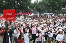 Maratón humanitario pro niños en Viet Nam