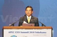 Viet Nam en conferencia ordinaria del APEC