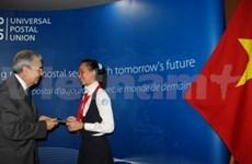 Alumna vietnamita gana concurso de cartas