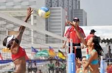 Atletas vietnamitas parten a Juegos Asiáticos de la Playa
