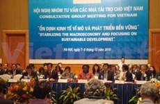 Comienza conferencia de Donantes en Viet Nam