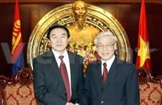 Viet Nam y Mongolia estrechan relaciones