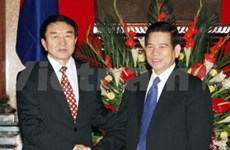 Viet Nam y Mongolia fomentan relaciones