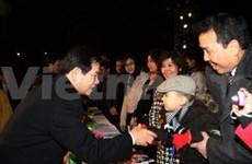 Presidente vietnamita en programa cultural para Viet Kieu