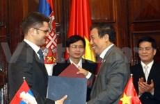 Impulsan Viet Nam y Serbia relaciones bilaterales
