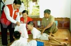 Apoyo a víctimas vietnamitas del agente naranja