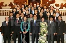 Primer ministro se reúne con nuevos embajadores