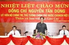Premier aborda tareas de Lao Cai