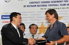 Falko Goetz, nuevo entrenador de la selección vietnamita
