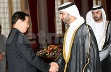 Recibe presidente vietnamita al ejecutivo de UAE