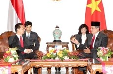 Concluye Primer vietnamita visita a Indonesia