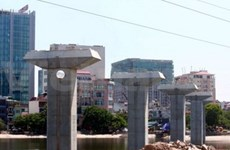 Inician construcción ferroviaria en Ha Noi