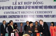Construyen termoeléctrica en provincia norteña