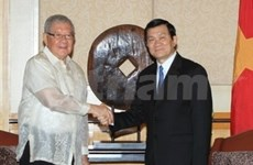 Continúa Presidente vietnamita su visita en Filipinas