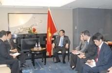 Japón ayudará a Viet Nam en reestructuración económica