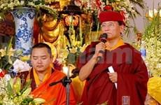 En Vietnam líder linaje budista XII Gyalwang Drukpa