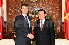Visita Vietnam príncipe heredero de Dinamarca