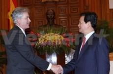 Premier recibe a funcionarios foráneos de alto nivel