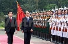 Presidente de Myanmar realiza visita oficial a Vietnam