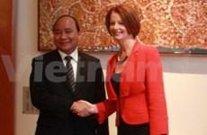 Vicepremier vietnamita visita Australia