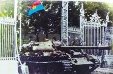 Celebran aniversario de reunificación nacional