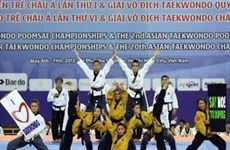 Vietnam gana medallas en campeonato asiático de Taekwondo