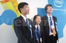 Alumnos vietnamitas ganan en concurso científico mundial