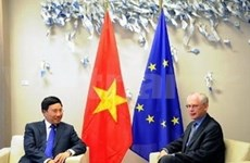 Vietnam y UE promueven cooperación integral