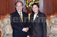 Presidente parlamentario en Laos