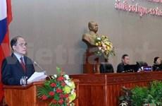 Dirigente parlamentario resalta lazos con Laos