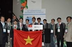 Vietnam: seis medallas en olimpiada de matemática
