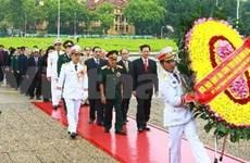 Rinden homenaje a los mártires de la Patria