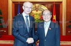 Continúa presidente del Consejo Europeo gira en Vietnam