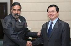 India promueve inversión con Vietnam