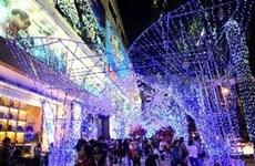 Colorido Vietnam en fiestas navideñas