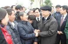 Dirigente partidista expresa mejores deseos por Tet