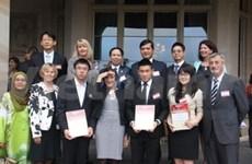 Honran a estudiantes vietnamitas en Australia