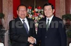 Cambodia es principal socio de Vietnam, afirma presidente