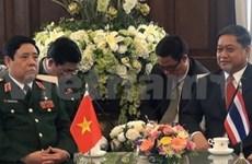 Impulsan Vietnam y Tailandia cooperación militar