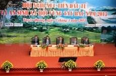 Región noroeste vietnamita promueve inversión