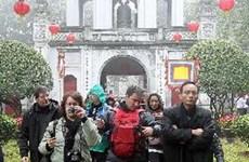 Número de turistas a Hanoi supera cinco millones