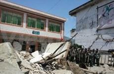 Dirigentes vietnamitas expresan pesar a China por terremoto
