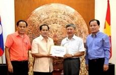 Respaldo de compatriotas en Laos a Truong Sa