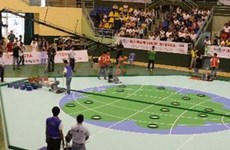 Inauguran ronda final del concurso nacional de robots