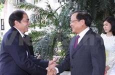 Fomentan Hanoi y Luang Prabang la cooperación