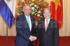 Renuevan nexos legislativos Vietnam y El Salvador