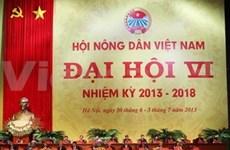 Inauguran Congreso de Campesinos en Vietnam