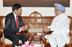 Primer ministro indio se reúne con canciller vietnamita