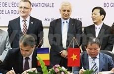 Cooperan Vietnam y Rumanía en educación y formación
