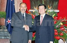 Miran Vietnam y Nueva Zelanda comercio mil millones USD